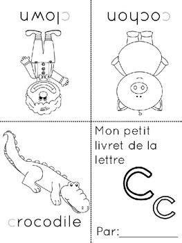 petits livrets de lalphabet french alphabet booklets