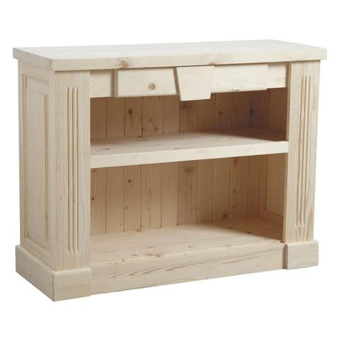 meuble a peindre en bois brut palzon com
