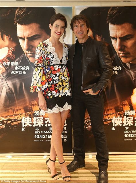 actress in movie jack reacher never go back tom cruise cobie smulders jack reacher never go back