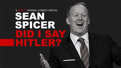 Sean Spicers Netflix Comedy Special Youtube