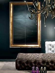 Grand Miroir Chambre : 20 s lections de miroir de design chic contemporain ~ Teatrodelosmanantiales.com Idées de Décoration