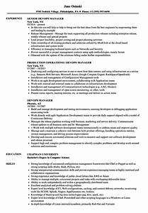 devops manager resume samples velvet jobs With devops consultant resume