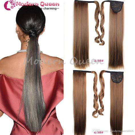 22drawstring Ombre Ponytail False Hair Tail Hairpiece