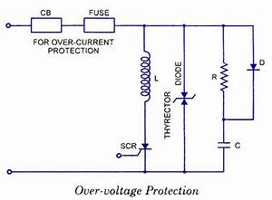 Scr Over Voltage Protection Diagram