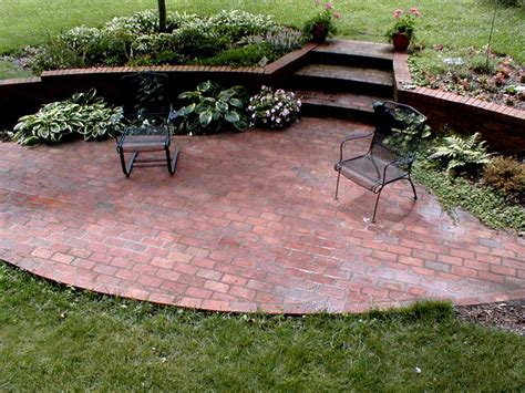 brick patio patio how to build a brick patio