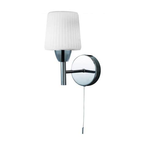Single Bathroom Light Fixtures by Forum Lighting Aquarius Switched Single Light Bathroom
