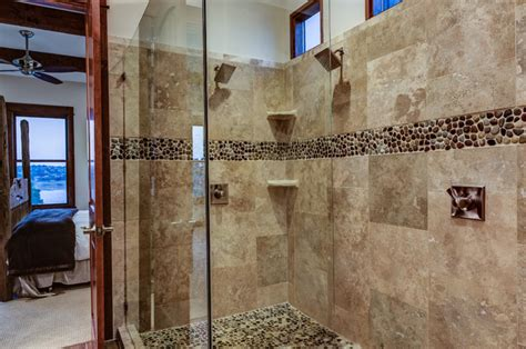 Rustic Contemporary  Rustic  Bathroom  Other Metro By