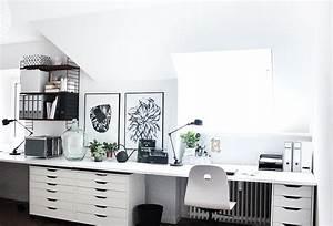 Home Office Einrichten Ideen : die besten 25 home office einrichten ideen auf pinterest b ro schreibtische dekorieren ~ Bigdaddyawards.com Haus und Dekorationen