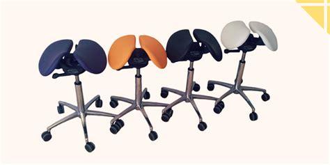 chaise de bureau ballon une chaise en selle pour un dos bien droit le coin forme