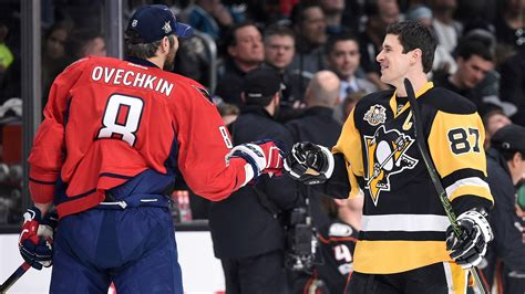 alex ovechkin  sidney crosby   forced rivalry
