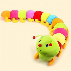 50cm Baby Toys Colorful Caterpillars Millennium Bug Doll ...