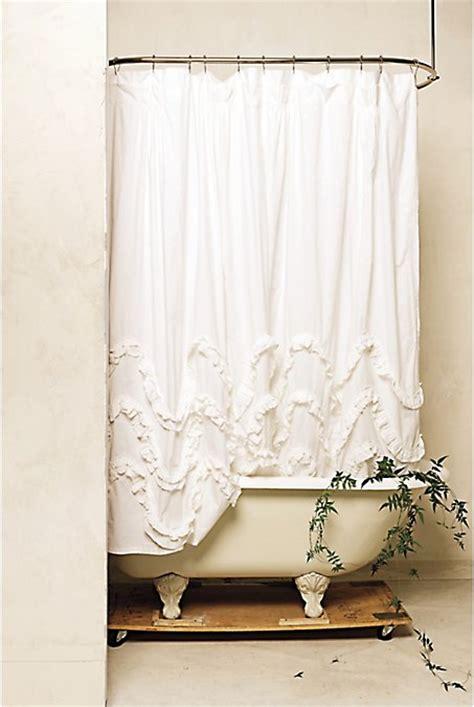 white ruffle shower curtain diy waves of ruffles shower curtain tutorial create enjoy