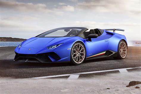 Lamborghini Huracan Performante Spyder, Capolavoro A Cielo