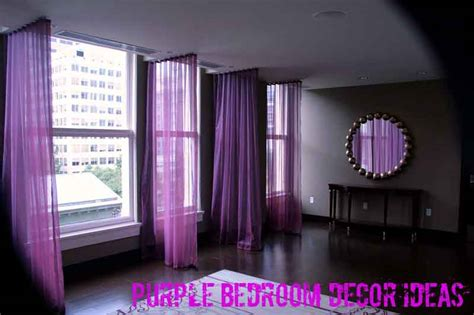 Plum Bedroom Decor 3 cutting edge purple bedroom decor ideas tacky living