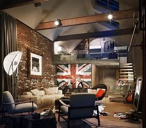 Style loft in the interior : Home Interior And Furniture Ideas