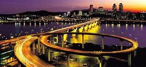 Pemandangan Kota Seoul Korea Selatan