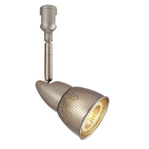 hton bay flexible track lighting hton bay 120 volt brushed steel flexible track lighting