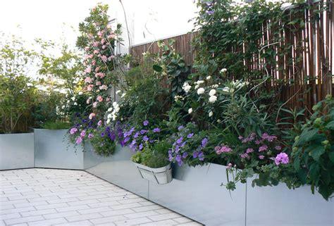 fioriere terrazzo lizart fioriere in metallo 187 terrazza