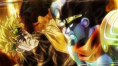 Jotaro Anime Dio Jojo Bizarre Adventure Crusaders