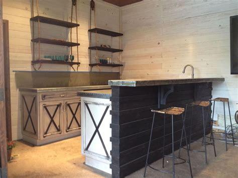 antique butcher block kitchen island made custom made cabinets zinc countertops by kidd