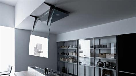 modeles cuisines hotte îlot pratique et convivial pour une cuisine moderne