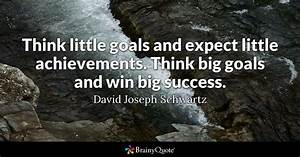 Think little go... New Targets Quotes