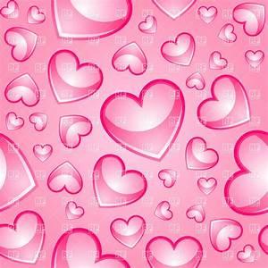 [67+] Pink Hearts Background on WallpaperSafari