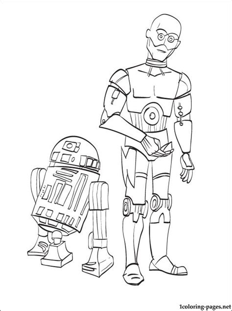star wars  po printable page coloring pages
