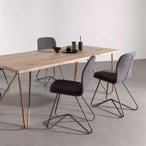 chaises design salle à manger chaise design de salle à manger avec coque en tissu