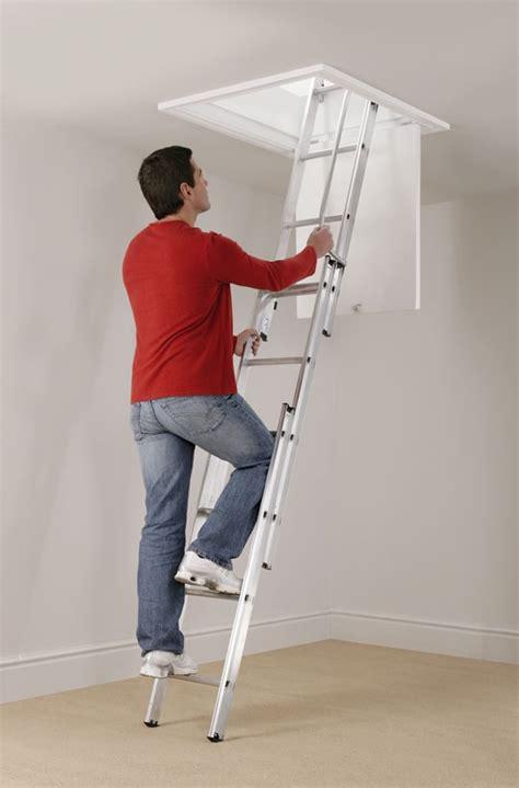 escaliers escamotables de grenier clic up 3 centaure 3 02 m