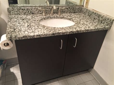 grey granite bathroom vanity project pictures details