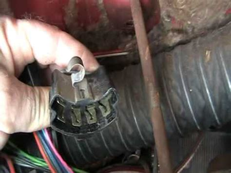 Impala Video Turn Signal Switch Replacement Youtube