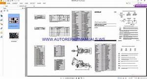 Caterpillar 446b Backhoe Loader Electrical Schematics