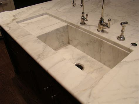 Custom Stone Sinks   Traditional   Kitchen Sinks   chicago