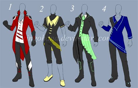 Anime Clothing Ideas Male | www.pixshark.com - Images Galleries With A Bite!