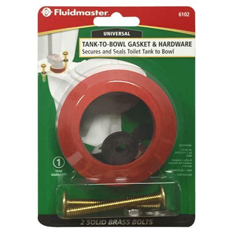 tank  bowl gasket  bolts   fluidmaster