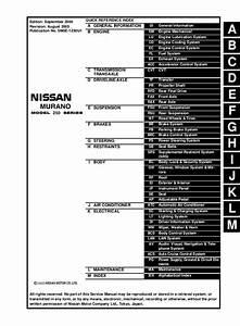 2005 Nissan Murano Fuse Box
