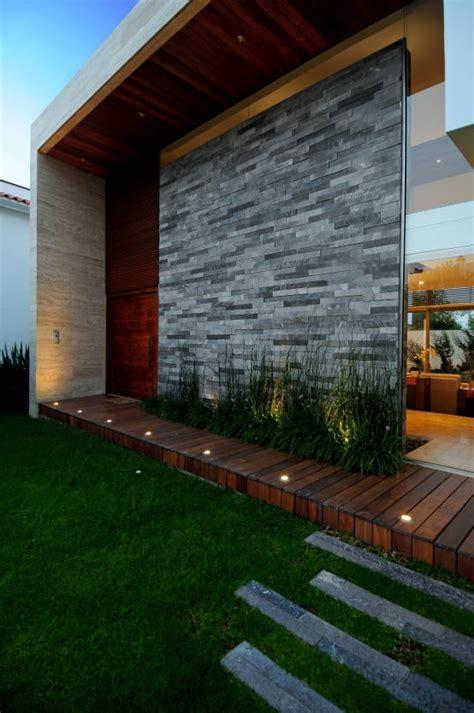 ideas modernas  recubrir la fachada de tu casa homify