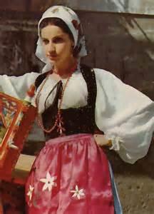 Sicilian Traditional Dress Costume