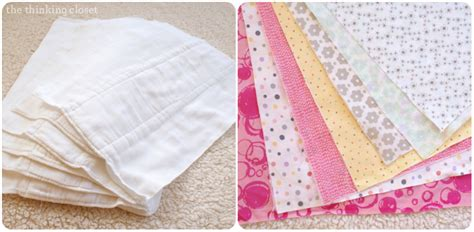 burp cloth tutorial for the beginner sewist the thinking