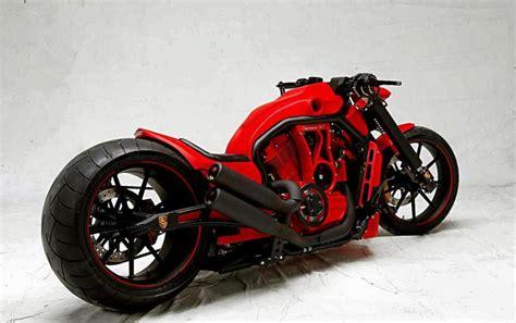 Custom Motorcycles : Porsche Custom Bike Hintergrundbilder