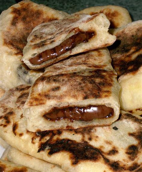 recette dessert au nutella naans au nutella les petits plats dans les grands