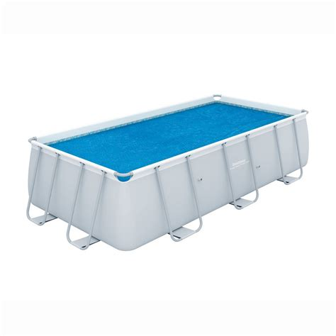 bache piscine rectangulaire b 226 che solaire piscine rectangulaire power steel bestway