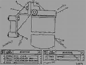 6n5916 Fuel Filter Group - Track-type Loader Caterpillar 951b