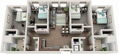 Suite Bedroom Hall Housing Shared Blazer Living