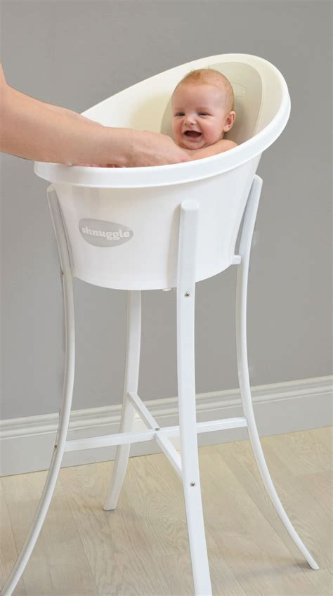 Bath Tub With Stand For Baby by Shnuggle Bath Grey Backrest And Stand Baby Boy