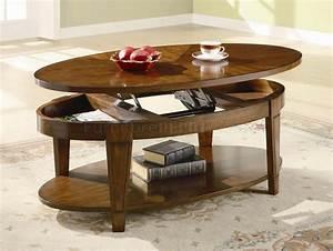 Rich cherry finish modern lift top coffee table w options for Modern cherry coffee table