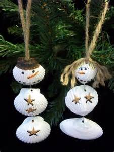 Snowman Crafts From Shells