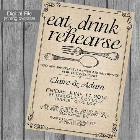 rehearsal dinner invitation template 40 dinner invitation templates free sle exle format free premium templates