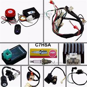 50  70  110  125cc Wiring Harness Loom Atv Quad Bike Electric